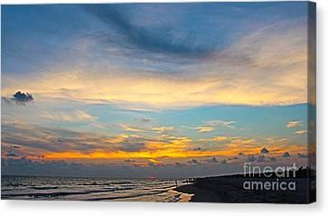 Bowman's Beach Sunset Canvas Print