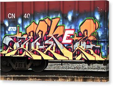 Boxcar Art Canvas Print