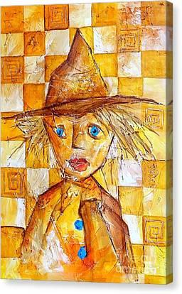 Boy 621-12-13 Marucii Canvas Print by Marek Lutek