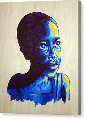 Boy Dreams Canvas Print by Konni Jensen