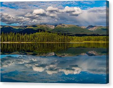 Boya Lake Canvas Print