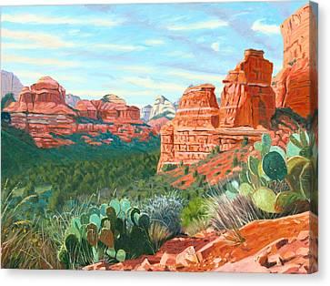 Boynton Canyon Canvas Print by Steve Simon