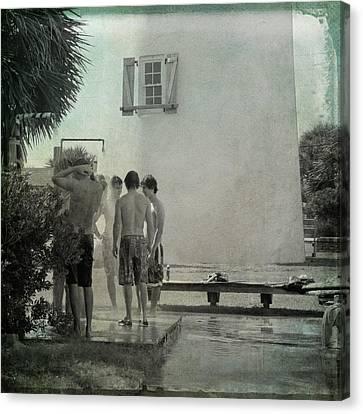 Boys Of St. George Canvas Print by Toni Hopper