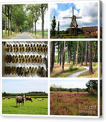 Brabant Collage Canvas Print by Carol Groenen