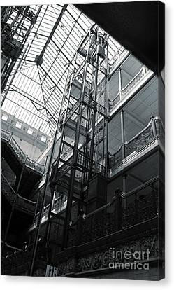 Bradbury Building Canvas Print by Gregory Dyer