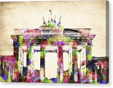 Bradenburger Tor Canvas Print