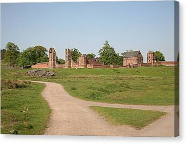 Bradgate Park House Canvas Print by Mark Severn