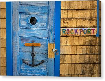 Bradley Wharf Rockport Canvas Print