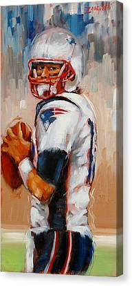 Brady Boy Canvas Print