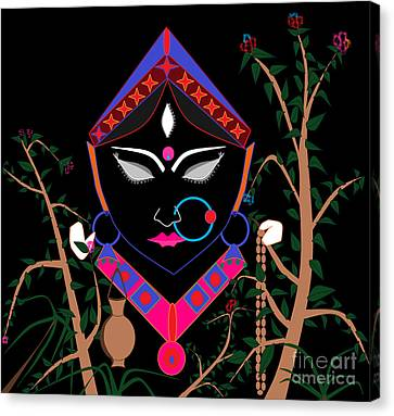 Brahmacharini Canvas Print