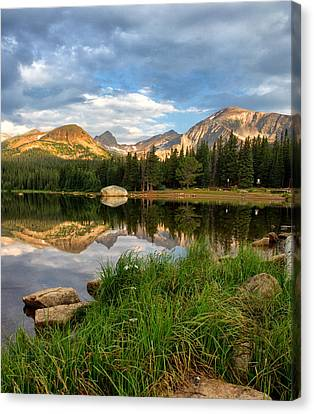 Brainard Lake Reflections Canvas Print
