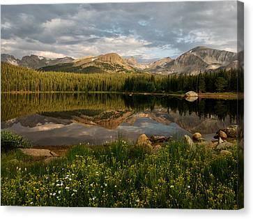 Canvas Print featuring the photograph Brainard Lake by Ronda Kimbrow