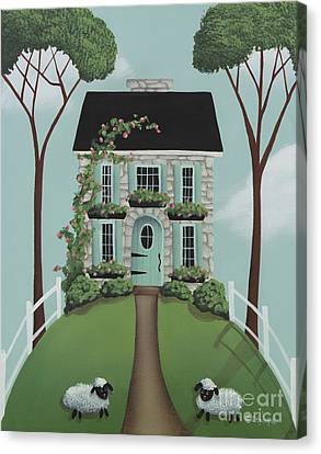 Brambleberry Cottage Canvas Print