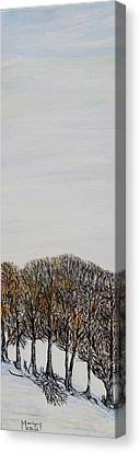 Canvas Print featuring the painting Branch Broken by Marilyn  McNish