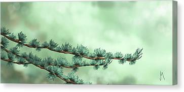 Macros Canvas Print - Branches by Veronica Minozzi