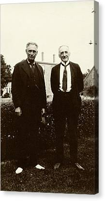 Brandeis And Loeb Canvas Print by American Philosophical Society