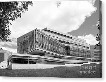 Brandeis University Carl J. Shapiro Science Center Canvas Print by University Icons