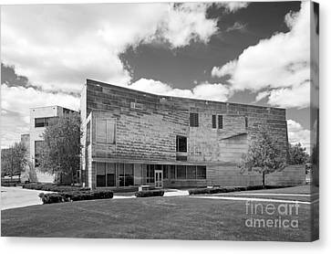 Brandeis University Shapiro Campus Center Canvas Print by University Icons