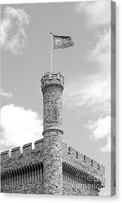 Brandeis University Usen Castle Canvas Print by University Icons