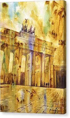 Brandenburg Gate Canvas Print by Ryan Fox