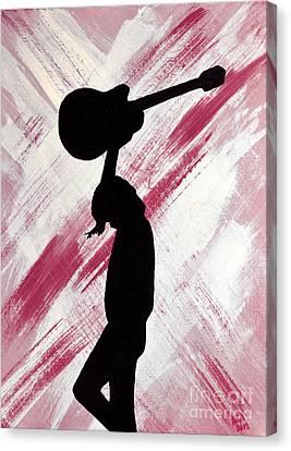 Brandi Carlile Hot Summer Night Canvas Print by Alys Caviness-Gober