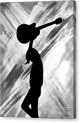 Brandi Carlile Living The Dream Canvas Print by Alys Caviness-Gober