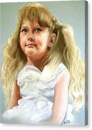 Brandi Canvas Print by Zelma Hensel