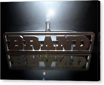 Branding Brand Concept Canvas Print by Allan Swart