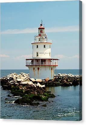 Brandywine Shoal  Lighthouse Canvas Print