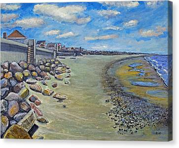 Brant Rock Beach Canvas Print