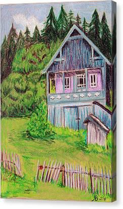 Brasov House Romania Canvas Print