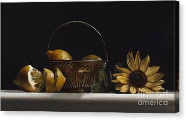 Brass Basket No.2 Canvas Print