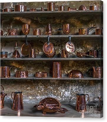 Brass Kitchenware Canvas Print by Svetlana Sewell