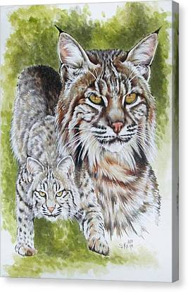 Brassy Canvas Print by Barbara Keith