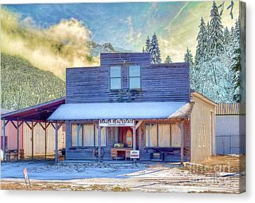 Brauer Real Estate Linwood Kansas Canvas Print by Liane Wright
