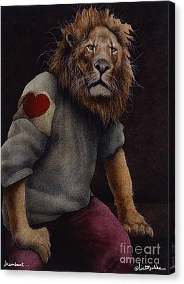 Braveheart... Canvas Print by Will Bullas