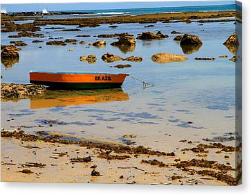 Brazilian Boat Canvas Print by Arie Arik Chen