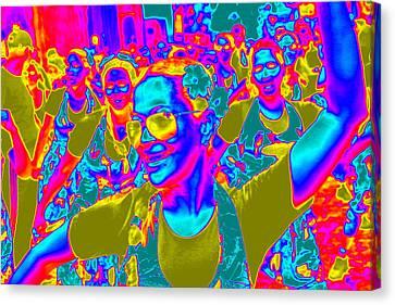 Brazilian Carnival Canvas Print