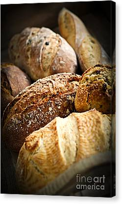 Bread Loaves Canvas Print