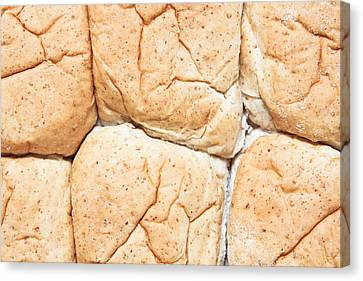 Bread Rolls Canvas Print by Tom Gowanlock
