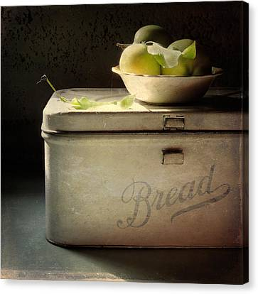 Canvas Print featuring the photograph Bread by Sally Banfill