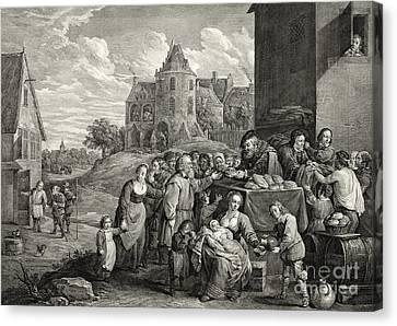Breadline 1747 Canvas Print by Padre Art