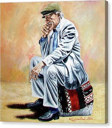 Break For Smoking - Apeadero Para Fumar Canvas Print