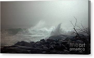 Break In The Storm Canvas Print