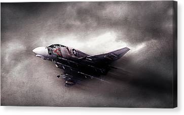 Break On Through Canvas Print by Peter Chilelli