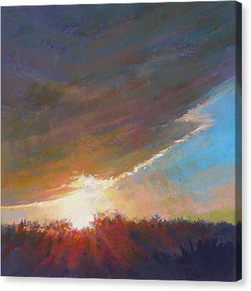 Break Through Canvas Print by Ed Chesnovitch