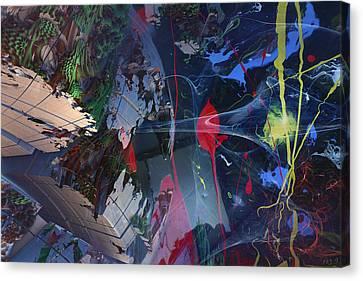 Break Through Canvas Print by Roger Pearce