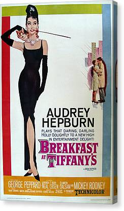 Breakfast At Tiffany's Canvas Print by Cool Canvas