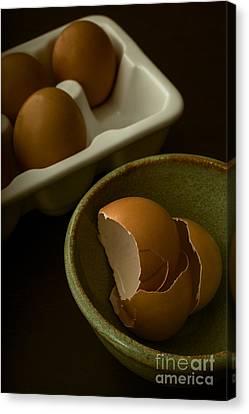 Breakfast Canvas Print by Edward Fielding