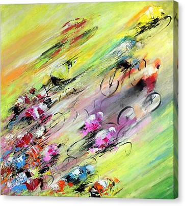 Breaking Away Canvas Print by Miki De Goodaboom